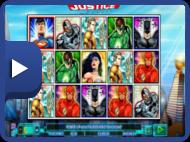 NS - Spilleautomater liste - Justice League