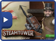Spill Steam Tower gratis