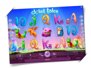 Søte drager i Cloud Tales