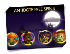 Antidote Free spins
