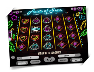 Fruits of Neon slot 2017