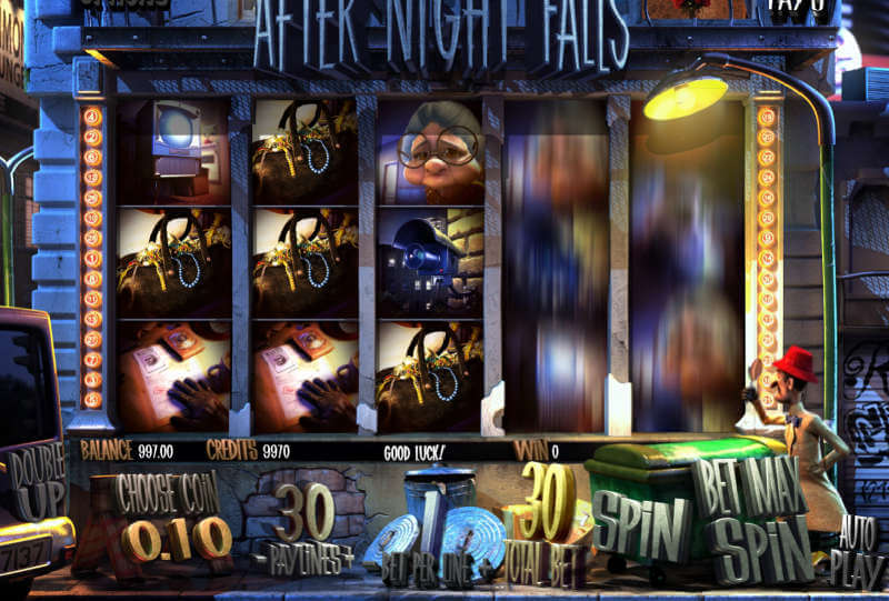 after night falls spilleautomat
