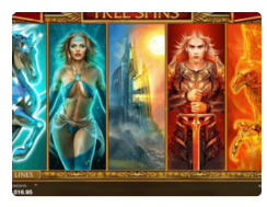 Microgaming forbidden Throne slot