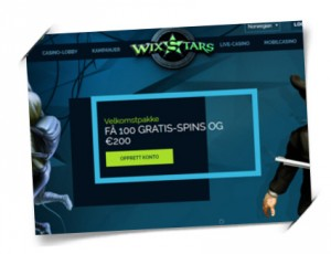 Wixstars Casino free spins