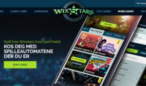 Wixstars Casino mobil