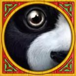panda panda symbol scatter