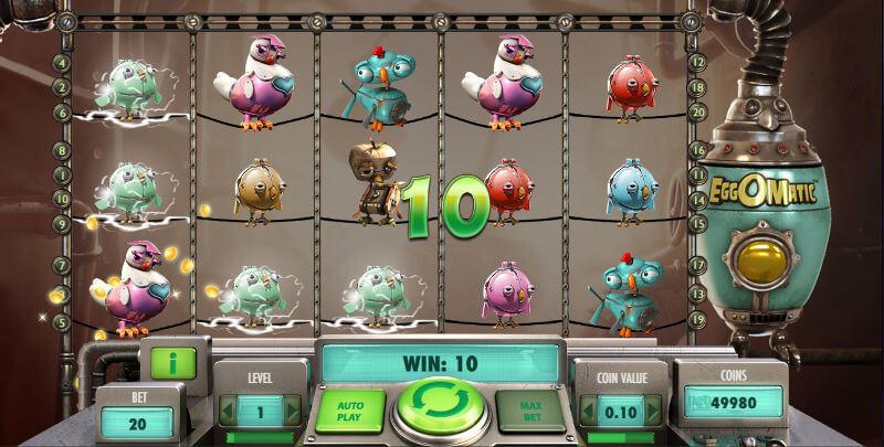 påskens beste spilleautomater